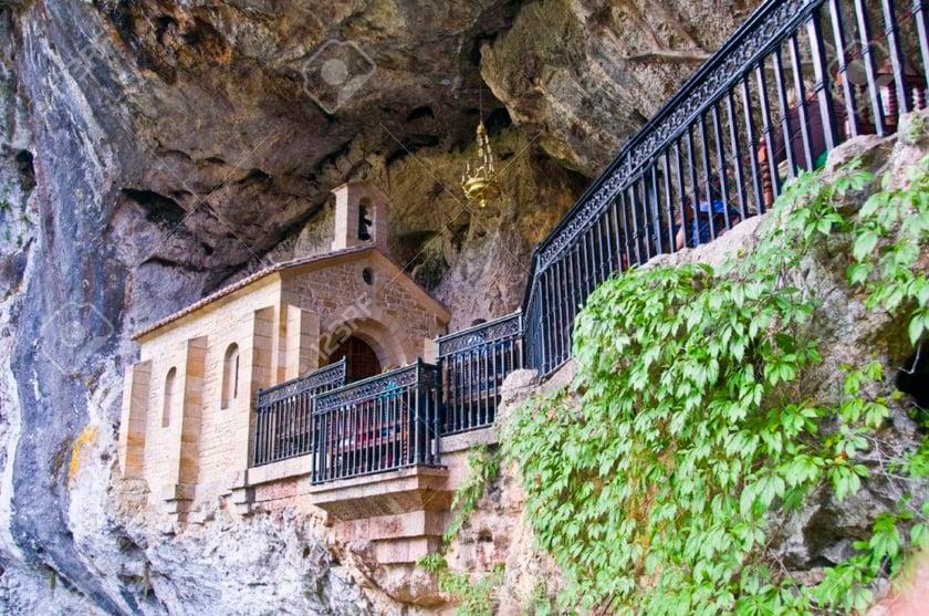 Holy Cave of Covadonga, Asturias, Spain