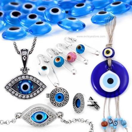 blue eye of Greece