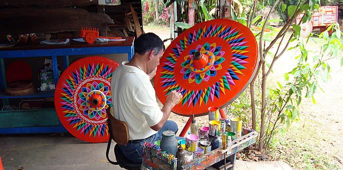 Sarchi artisan