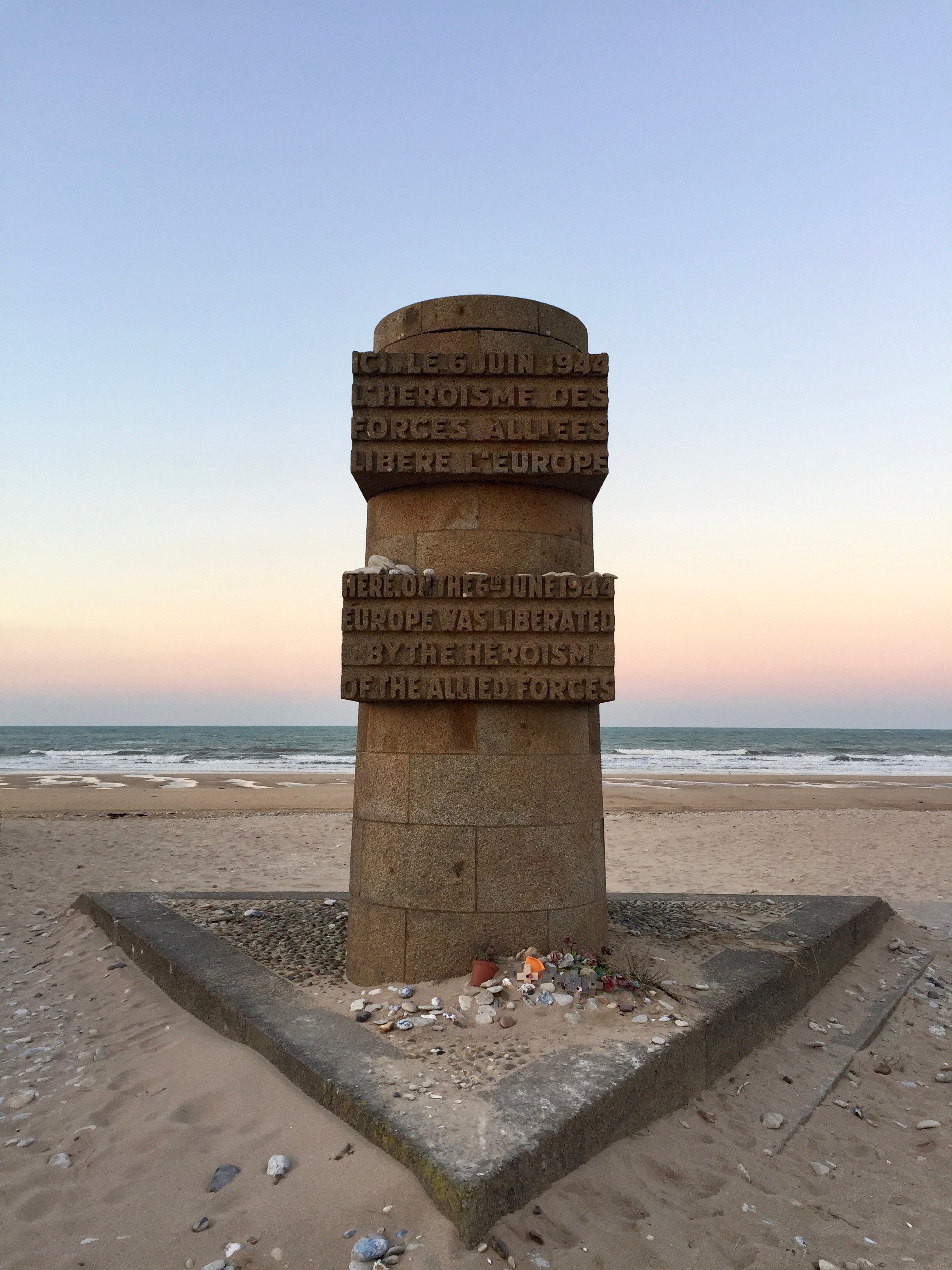 Juno Beach Monument